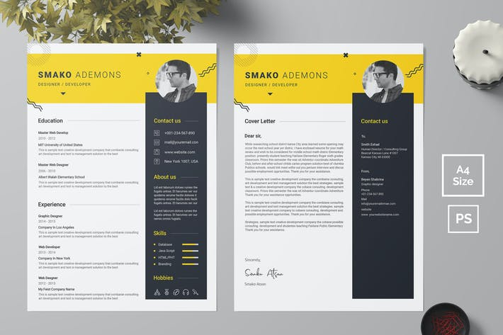 Thumbnail for Resume Template 40