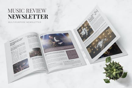 Music Review Newsletter