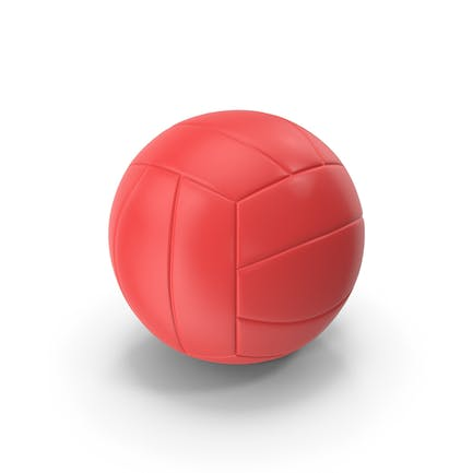 Volleyball Red