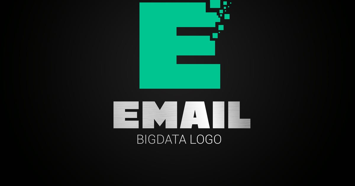Download Letter E Big Data Logo by SmartDesigns_eu