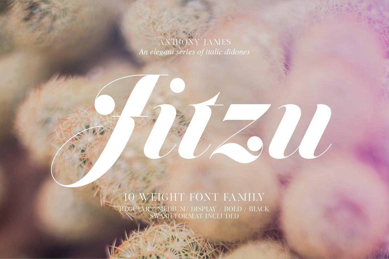 Jitzu-Typefamily