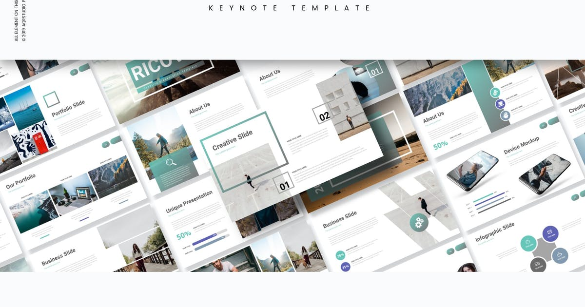 Download Ricova - Keynote Template by aqrstudio
