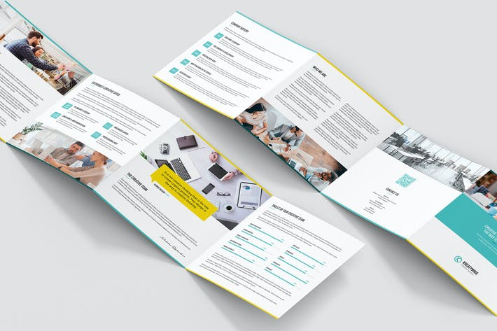Brochure – Creative Agency 4-Fold Square