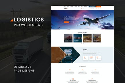 Logistik Transport VersandAgentur Geschäft