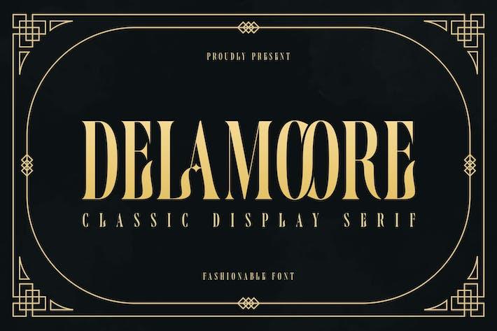 Thumbnail for Delamoore - Pantalla clásica Con serifa