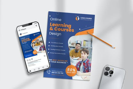 Learning Course Class Business Templates