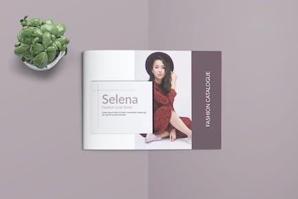 SELENA -  Fashion A4 Landscape Template