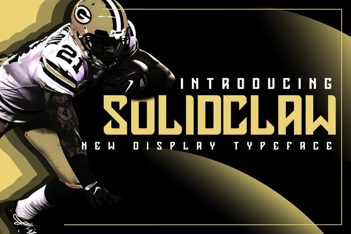 Cover Image For Solidclaw Display Font