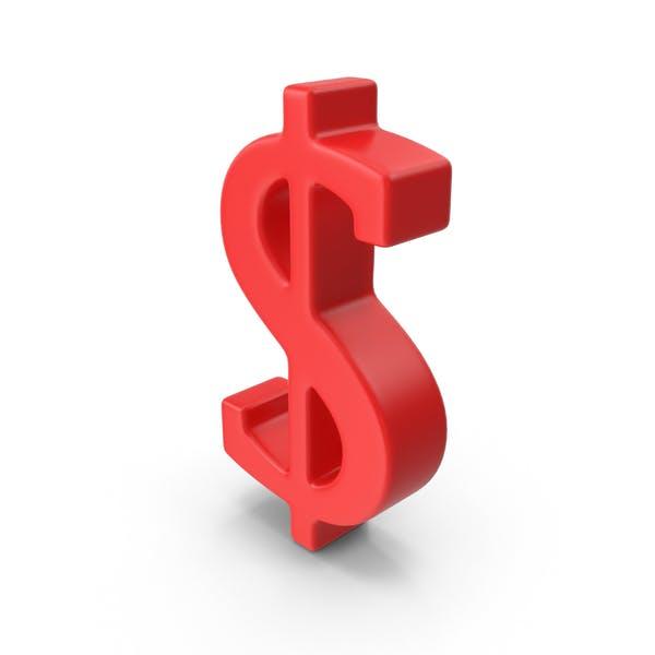 Thumbnail for Rotes Dollarsymbol