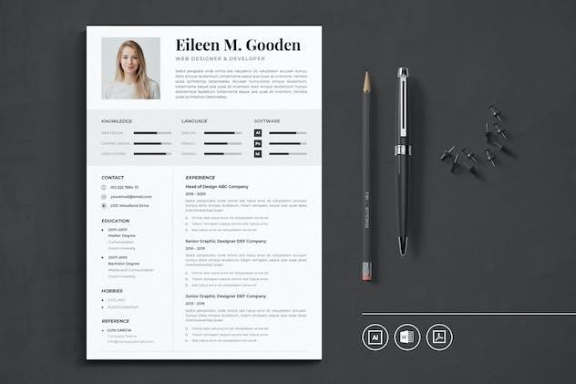 CV Resume Vol.17