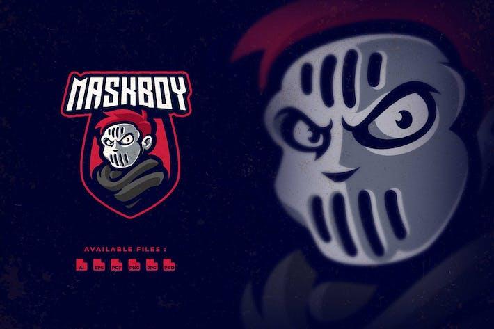 Thumbnail for Mask Boy Sport and Esport Logo