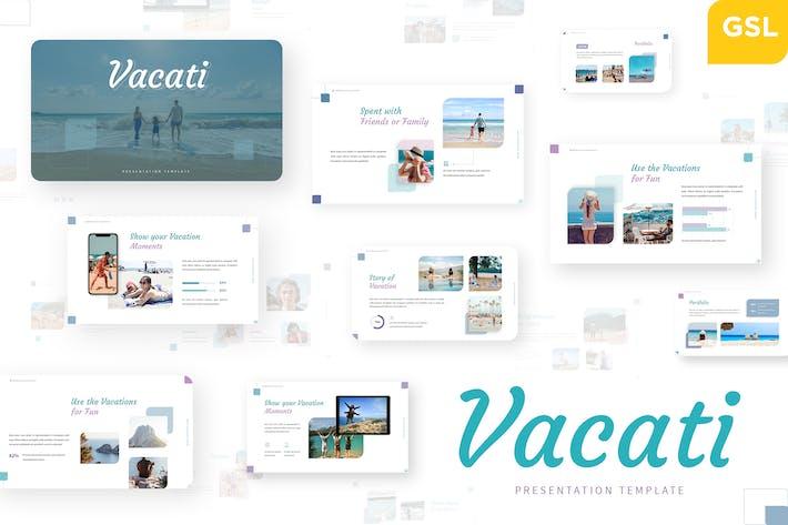 Vacati - Trip Google Slides Template