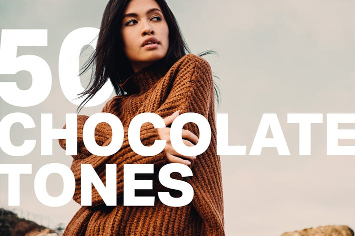 Cover Image For 50 Chocolate Tones Lightroom Presets