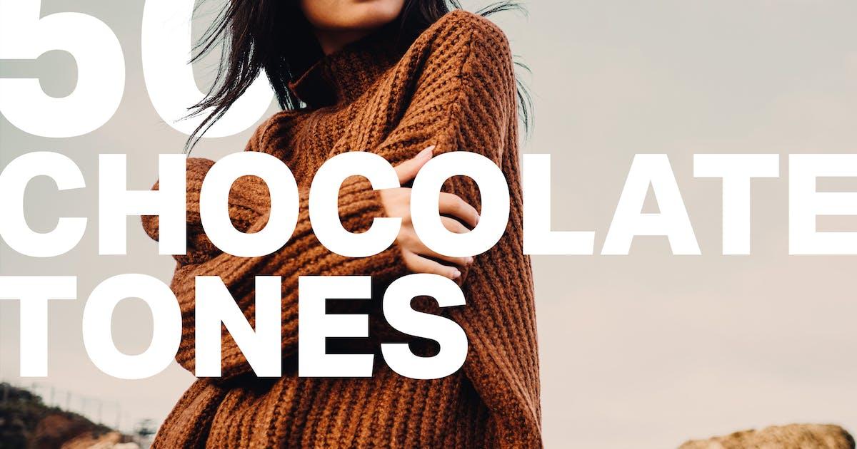 Download 50 Chocolate Tones Lightroom Presets by sparklestock