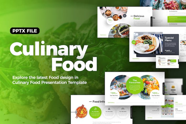 Thumbnail for Culinary Food Presentation Template