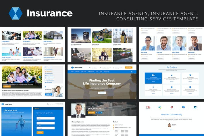 Thumbnail for Insurance - Insurance Agency, Consulting Services