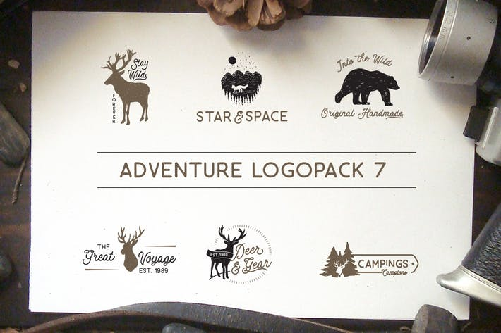 Cover Image For Adventure Logopack Vol. 7