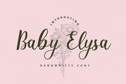 Детские Elysa Свадебный Шрифт