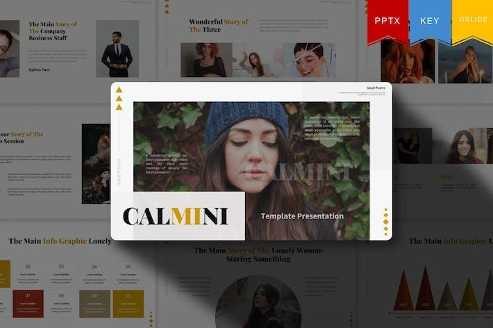 Calmini | Powerpoint, Keynote, Google Slides