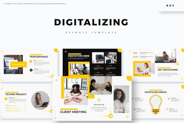 Цифровизация — Шаблон Keynote