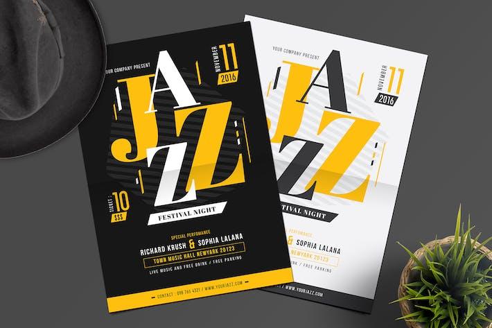Thumbnail for Jazz Night Flyer