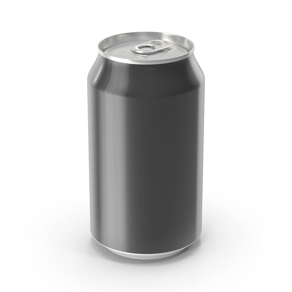 Thumbnail for Generic Black Can 355ml
