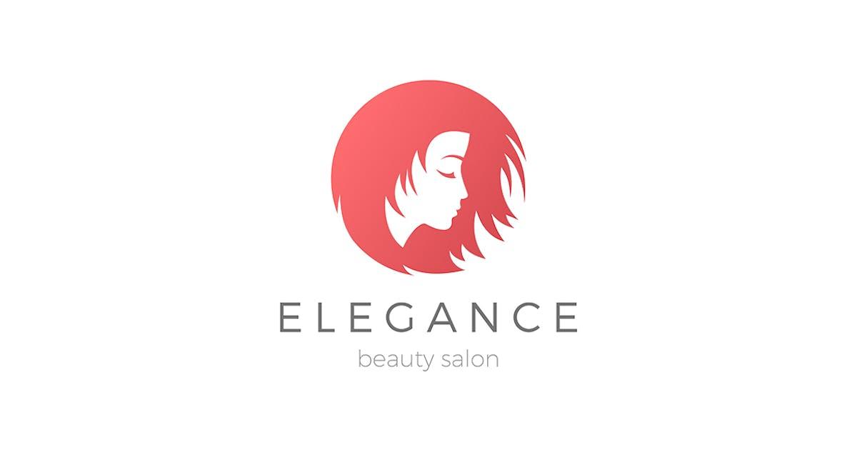 Download Woman Girl Beauty Salon Logo by Sentavio