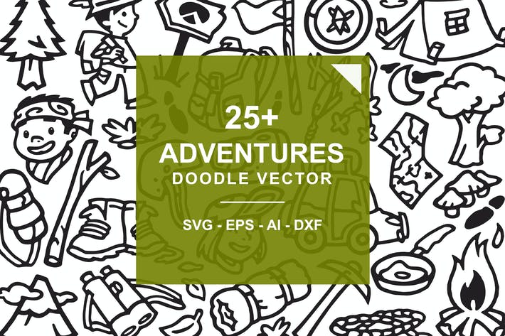 Thumbnail for Adventure and Hiking Doodles