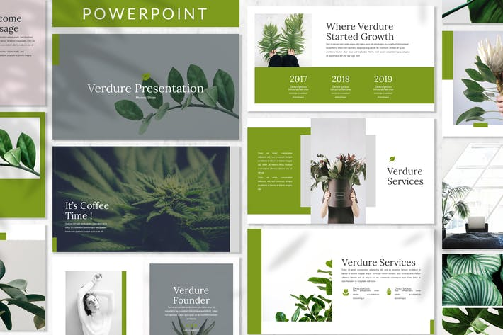Thumbnail for Verdure - Business Powerpoint Template