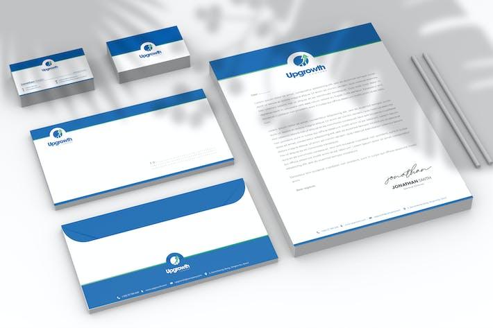 Marketing Branding Identity & Stationery Pack