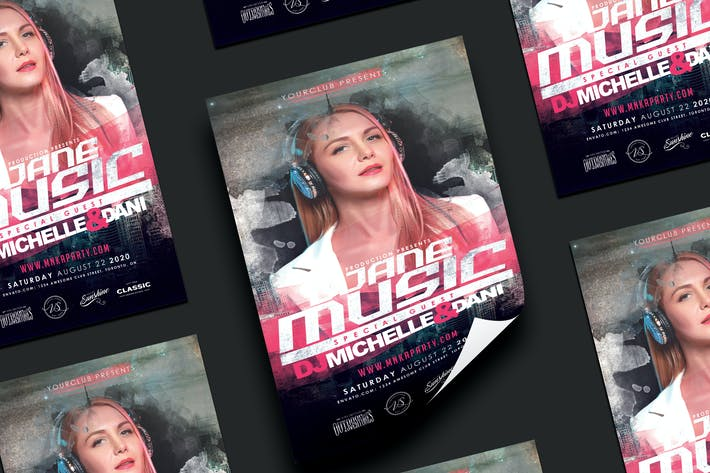 Thumbnail for DJane Guest Party Flyer