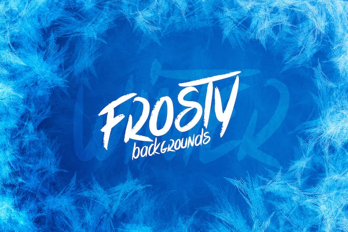 Thumbnail for Winter Frosty Backgrounds