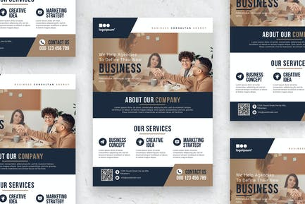 Business Consultant - Poster