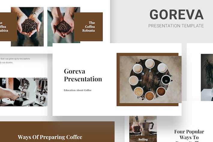 Thumbnail for Goreva - Learning About Coffee Keynote