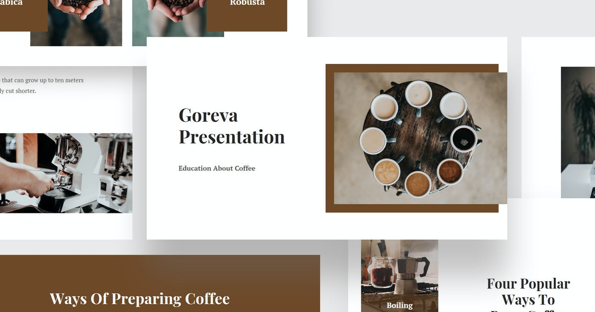 Download Goreva - Learning About Coffee Keynote by Madlistudio