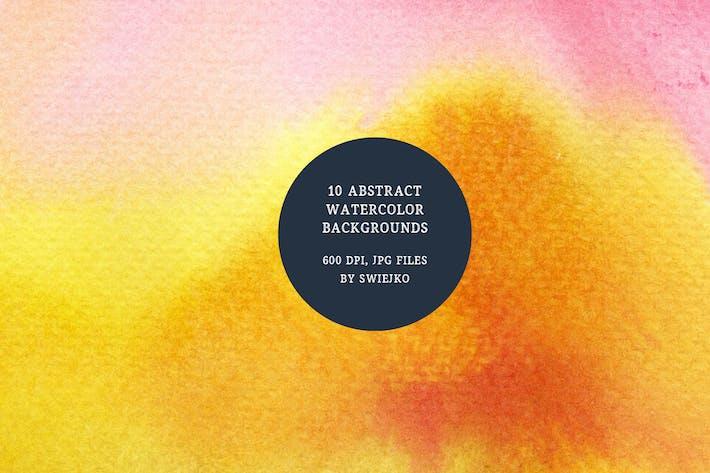 Cover Image For Fondos de acuarela Resumen