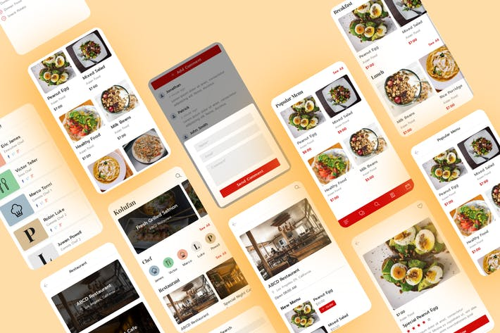 Thumbnail for Kolufan - Food and Restaurant Mobile Template