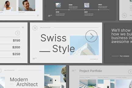 Swiss Style Presentation