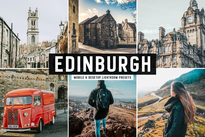 Thumbnail for Edinburgh Mobile & Desktop Lightroom Presets