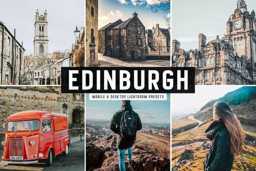 Edinburgh Mobile & Desktop Lightroom Presets