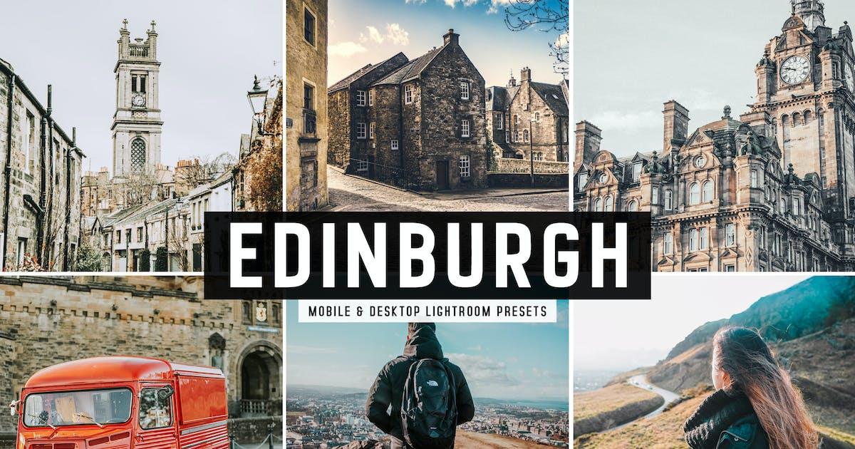 Download Edinburgh Mobile & Desktop Lightroom Presets by creativetacos