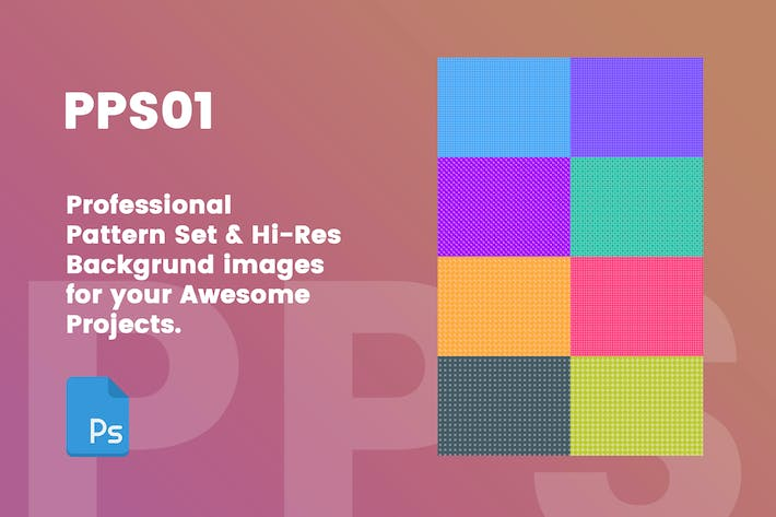 PPS01 - Professional Patterns & Hi-Res Background