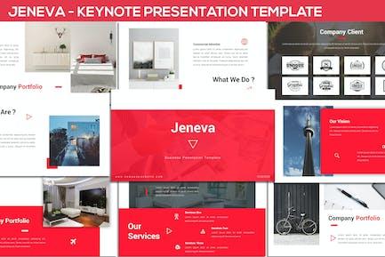 Jeneva - Keynote Presentation Template