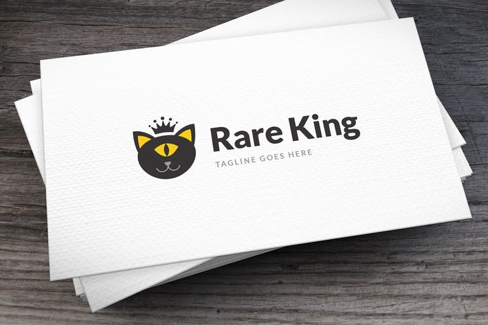 Thumbnail for Rare King Logo Template