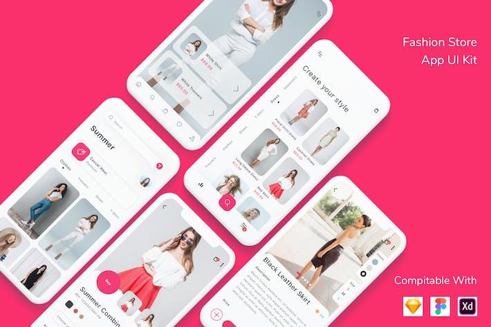 Fashion Store App UI Kit