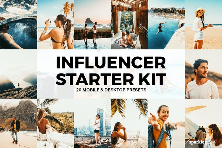 Thumbnail for 20 Travel Influencer Starter Lightroom Presets