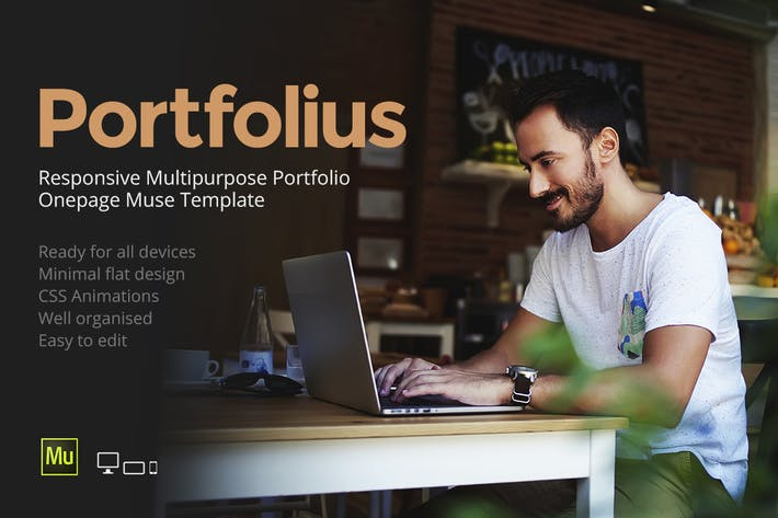 Thumbnail for Portfolius - Responsive Portfolio Template