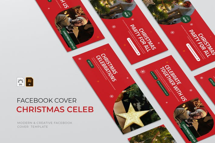 Thumbnail for Weihnachtsfeier | Facebook Cover