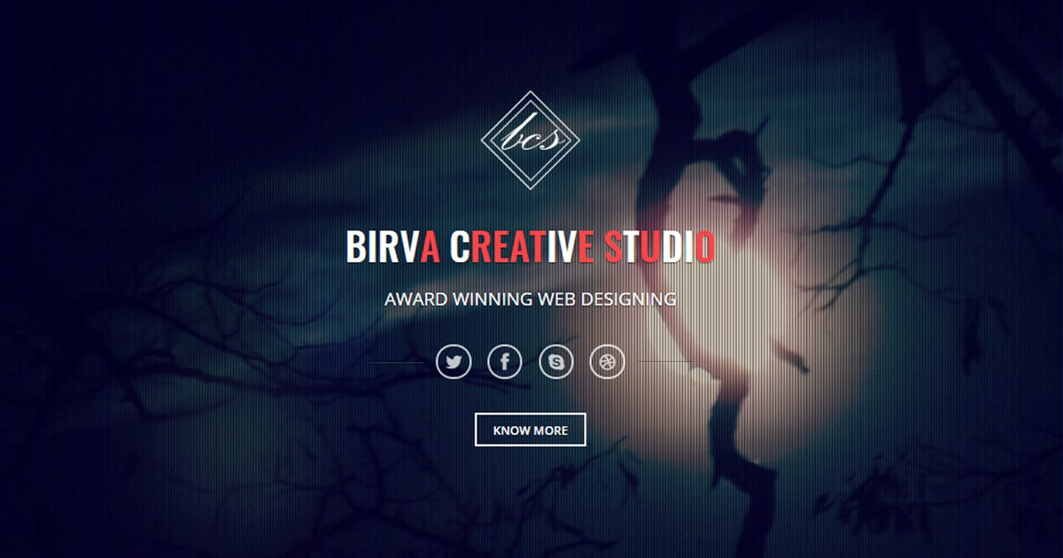 Download Birva - Bootstrap Parallax One Page Template by abmathasuriya