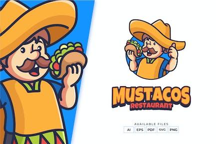 Taco Mascot Logo Design